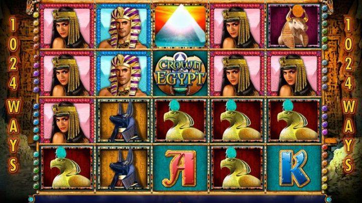Crown of Egypt เกมสล็อตออนไลน์ที่จะพาคุณไป ค้นพบกับขุมทรัพย์แห่งพระเจ้า