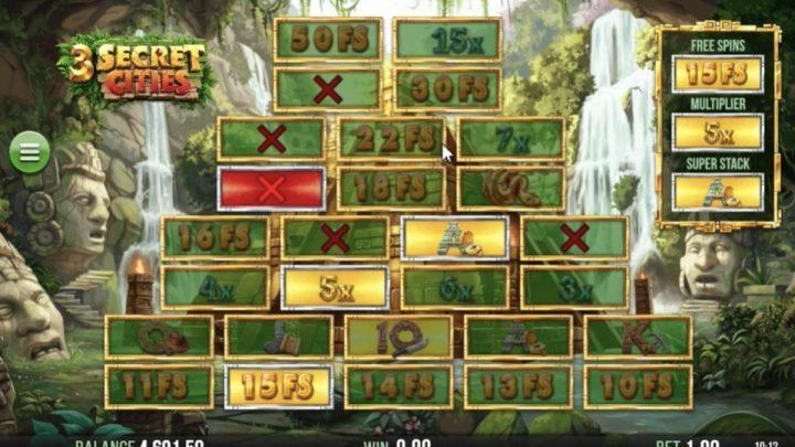 3 Secret Cities เกมสล็อต ออนไลน์ ที่เต็มไปด้วยคุณสมบัติพิเศษ